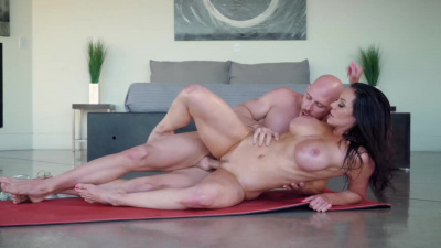 Johnny fills Kendra's soaking wet pussy and drills her tight hole as hard and fast as he can!