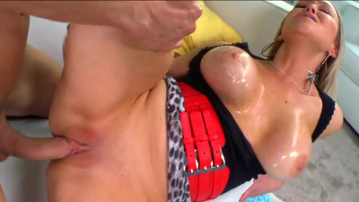 Busty Abbey Brooks is always hungry for dick