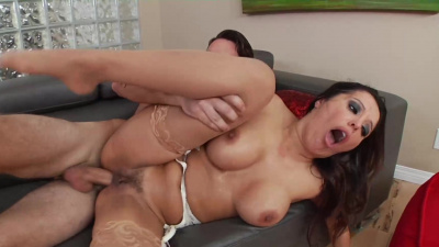Francesca Le treating young stud to a nasty session of fucking