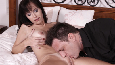 Stacked milf Alana Cruise sensual sex on camera