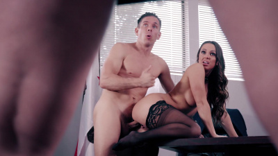 Secretary Abigail Mac makes her boss forget about his gold digging bitch wife