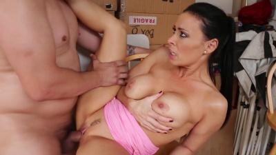 Vanilla DeVille tricks her friend's son into sex