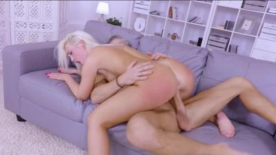 Czech hottie Lovita Fate mounts her well-endowed man