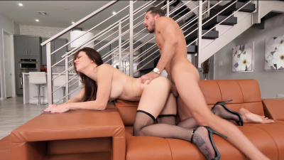 Housewife Audrey Miles cheats on her husband with a friend