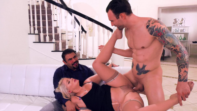 Lisey Sweet fucking a sperm donor in front of her husband