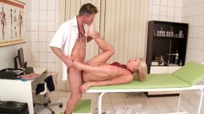 Blonde Lucy Heart needs an urgent big dick treatment
