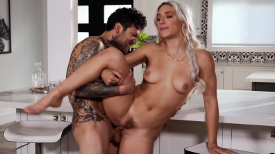Rich bitch Abella Danger brought to orgasm several times by lover