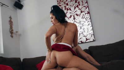 MJ Fresh wrestles her stepbrother followed by sex