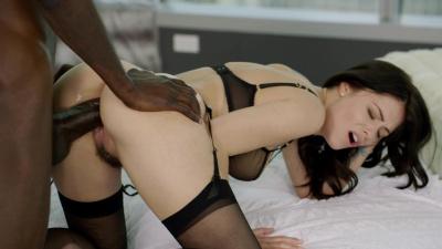 Businesswomen Ava Dalush buys black male escort