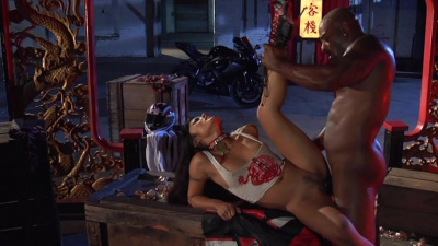 Princess Kaylani Lei interracial fantasy fuck