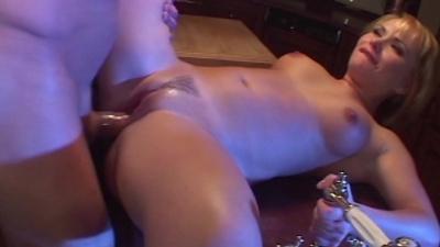 Beautiful milf Katja Kassin enjoys hard anal