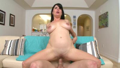 Sexy nurse Flor screams with every pump of cock