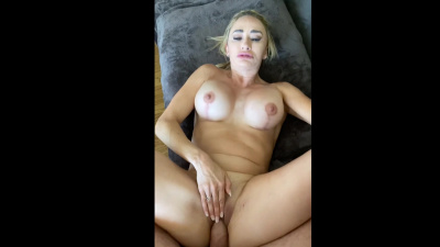 Milf Claudia Valentine pays rent with her body