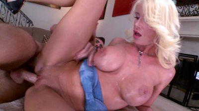 Riley Jenner fucks for a deep creampie in her first ever porn scene