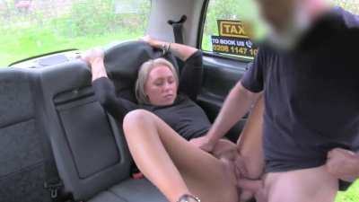 Nova Shields pays for her car ride with all her holes spread wide